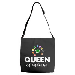 Queen of Indiana Adjustable Strap Totes | Artistshot
