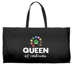 Queen of Indiana Weekender Totes | Artistshot