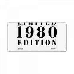 Limited Edition 1980 License Plate | Artistshot