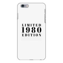 Limited Edition 1980 iPhone 6 Plus/6s Plus Case | Artistshot