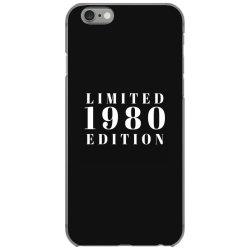 Limited Edition 1980 iPhone 6/6s Case | Artistshot