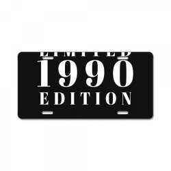 Limited Edition 1990 License Plate | Artistshot
