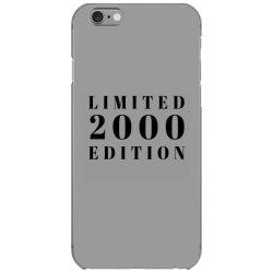Limited Edition 2000 iPhone 6/6s Case | Artistshot