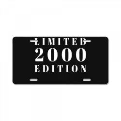 Limited Edition 2000 License Plate | Artistshot