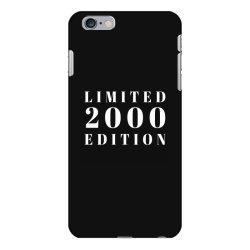Limited Edition 2000 iPhone 6 Plus/6s Plus Case | Artistshot