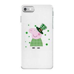 Peppa Pig St. Patrick's Day iPhone 7 Case | Artistshot