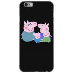 peppa pig family iPhone 6/6s Case | Artistshot