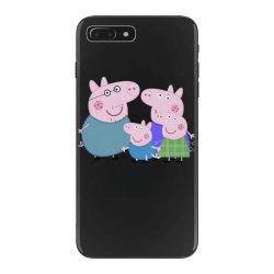 peppa pig family iPhone 7 Plus Case | Artistshot