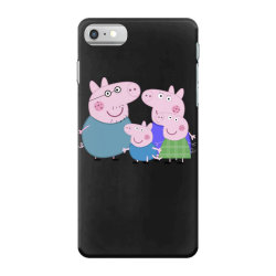 peppa pig family iPhone 7 Case | Artistshot