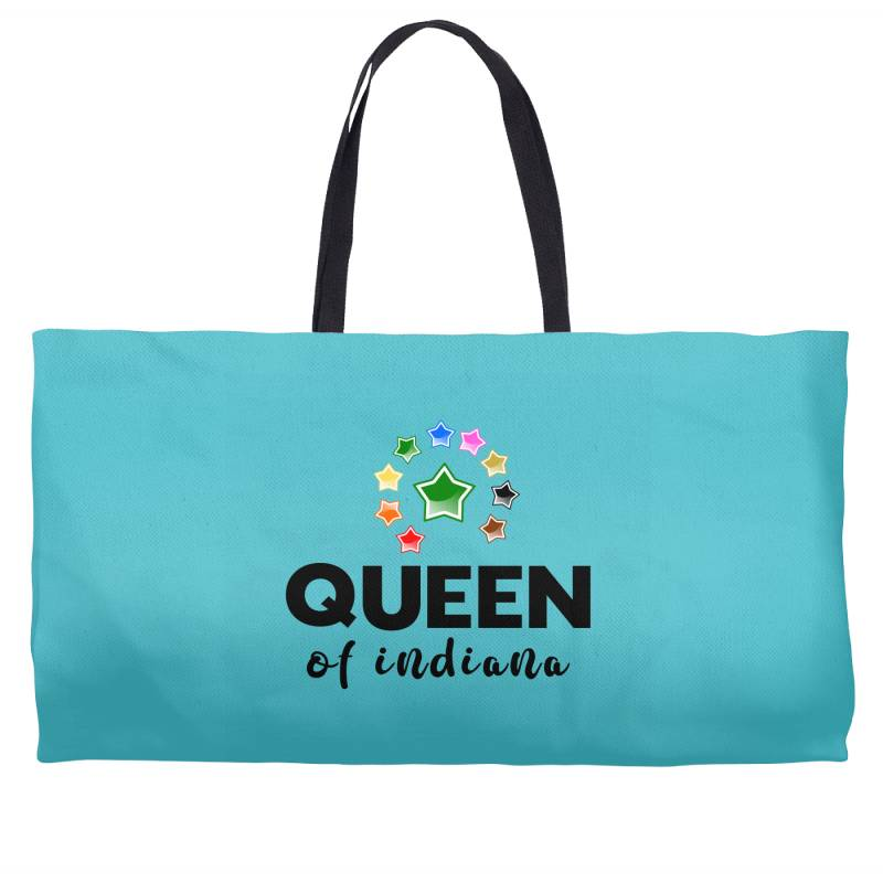 Queen Of Indiana Weekender Totes | Artistshot