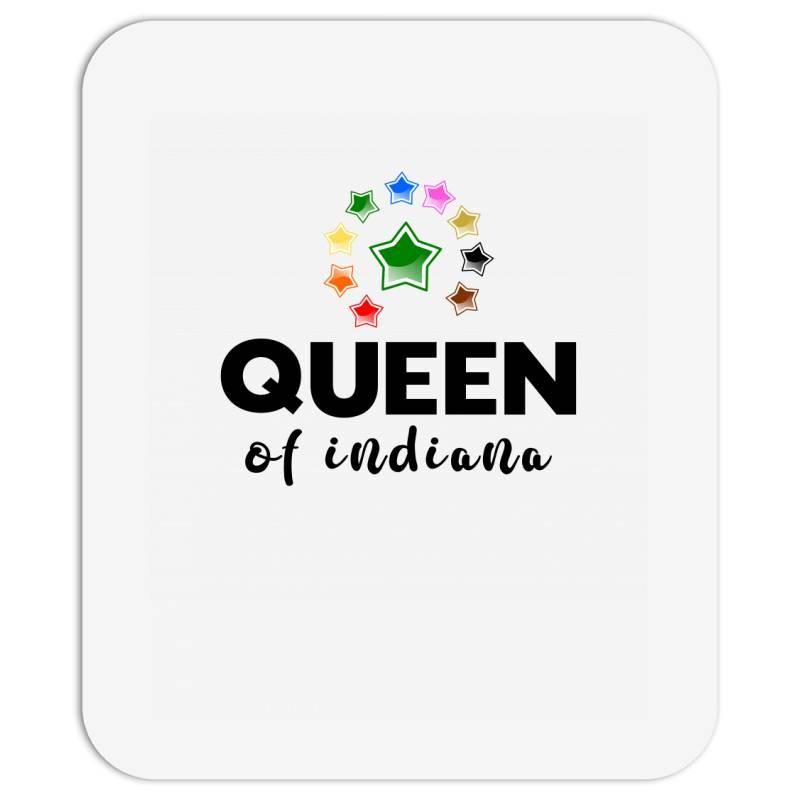 Queen Of Indiana Mousepad | Artistshot