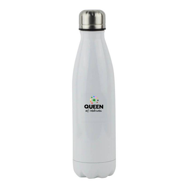 Queen Of Indiana Stainless Steel Water Bottle | Artistshot