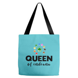 Queen of Indiana Tote Bags | Artistshot