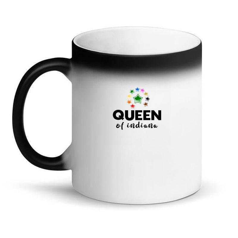 Queen Of Indiana Magic Mug | Artistshot