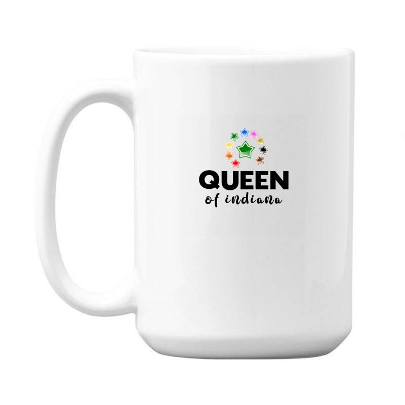 Queen Of Indiana 15 Oz Coffe Mug | Artistshot