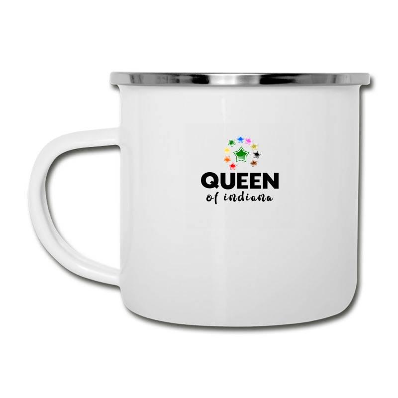 Queen Of Indiana Camper Cup   Artistshot