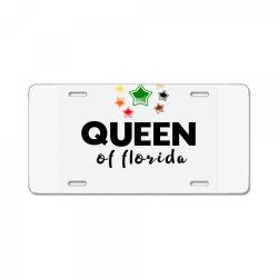 queen of Florida License Plate | Artistshot