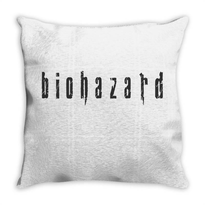 Biohazard Throw Pillow | Artistshot