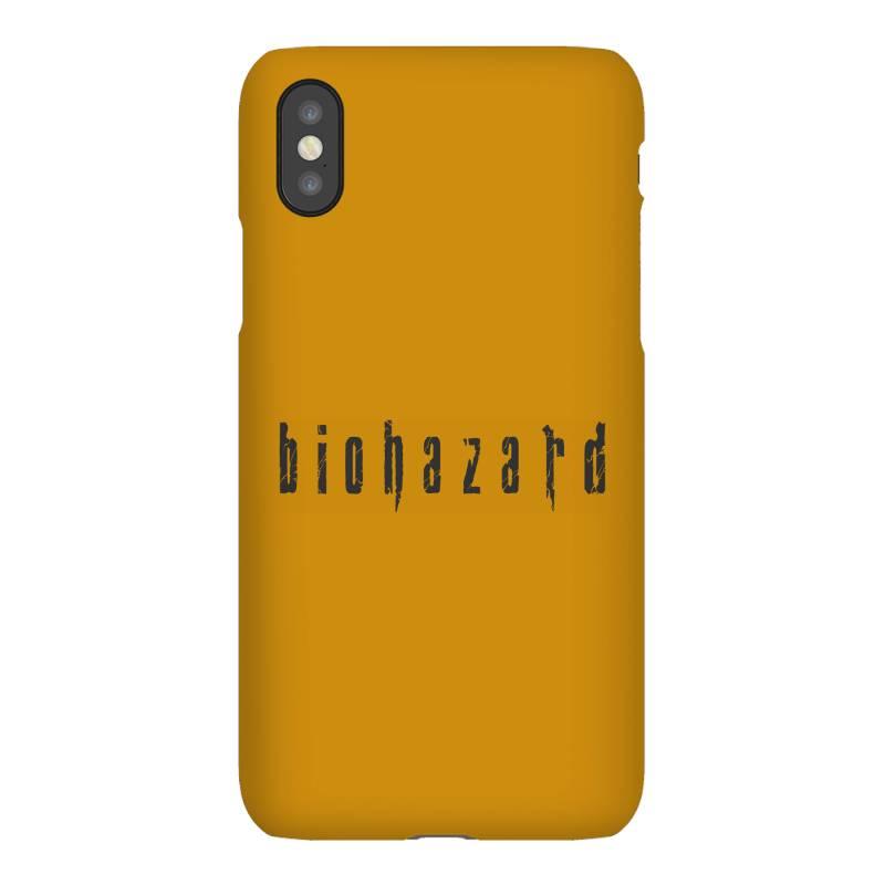 Biohazard Iphonex Case   Artistshot