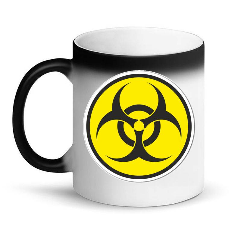 Biohazard Symbol Magic Mug | Artistshot
