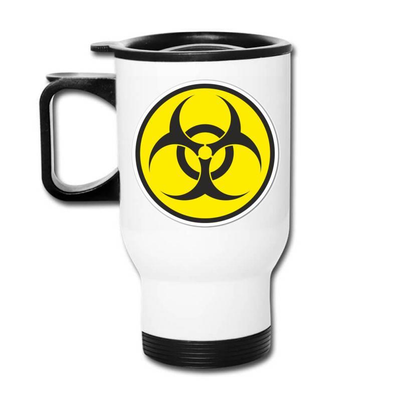 Biohazard Symbol Travel Mug | Artistshot