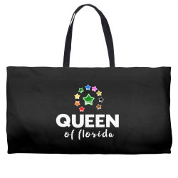 queen of Florida Weekender Totes | Artistshot
