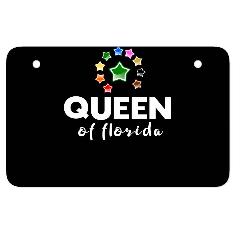 Queen Of Florida Atv License Plate | Artistshot