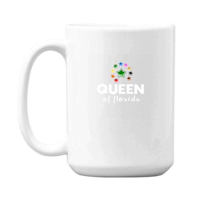 Queen Of Florida 15 Oz Coffe Mug   Artistshot