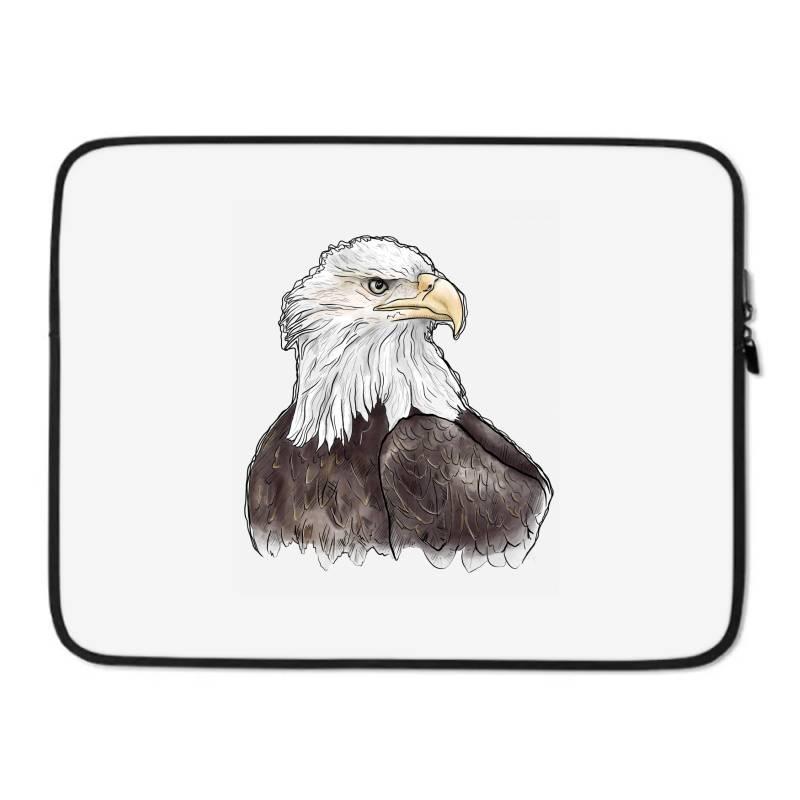 Watercolor Eagle Laptop Sleeve | Artistshot