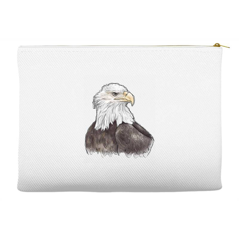 Watercolor Eagle Accessory Pouches | Artistshot
