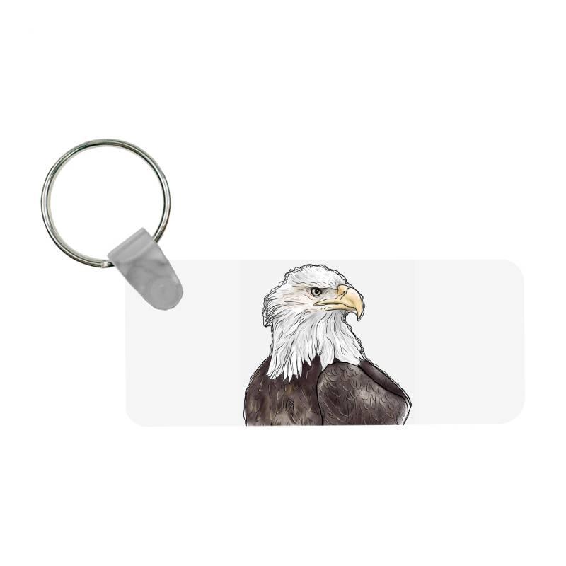 Watercolor Eagle Frp Rectangle Keychain | Artistshot