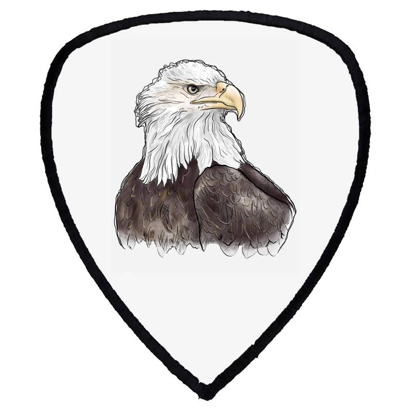 Watercolor Eagle Shield S Patch | Artistshot