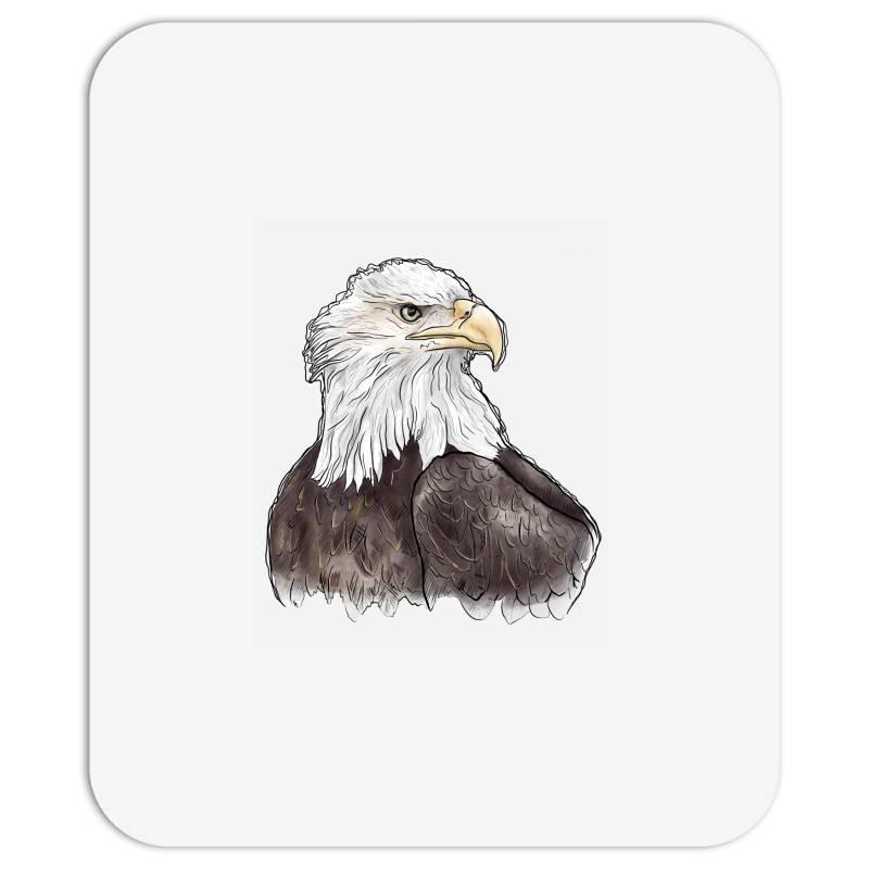 Watercolor Eagle Mousepad   Artistshot