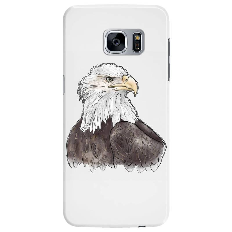 Watercolor Eagle Samsung Galaxy S7 Edge Case | Artistshot