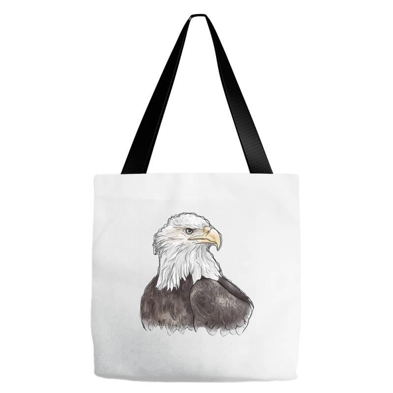 Watercolor Eagle Tote Bags   Artistshot