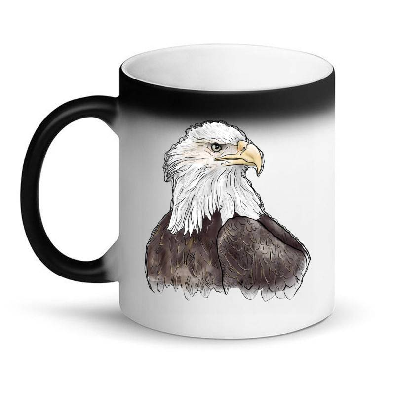 Watercolor Eagle Magic Mug | Artistshot