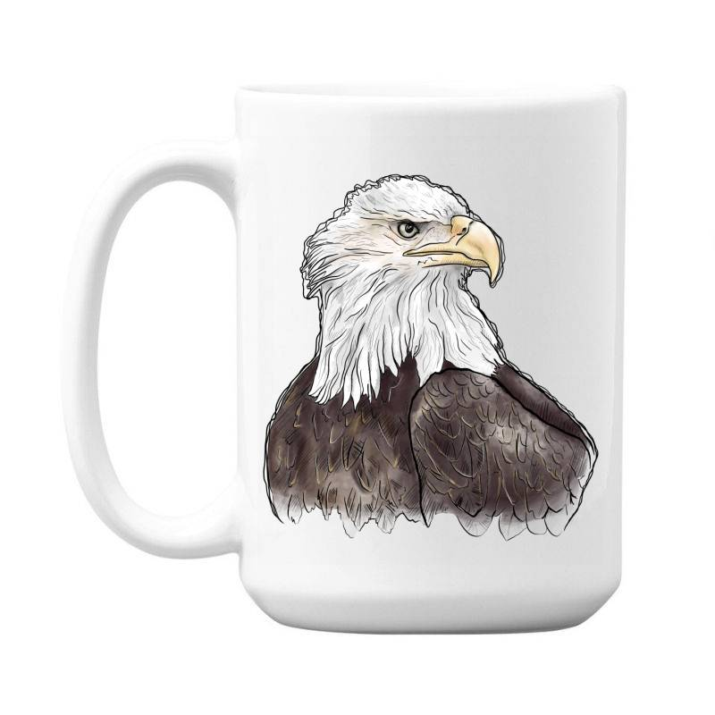 Watercolor Eagle 15 Oz Coffe Mug | Artistshot