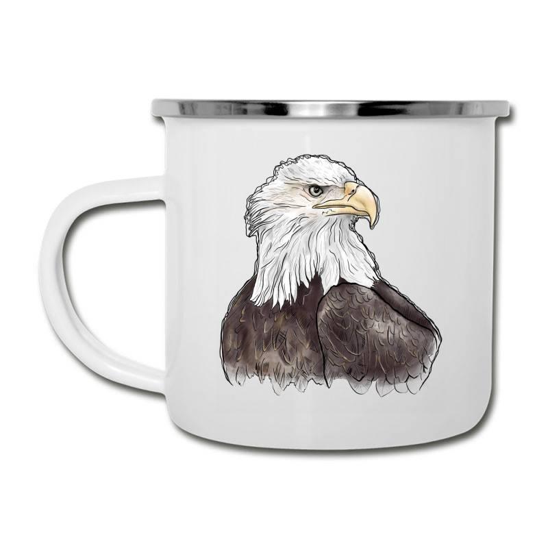 Watercolor Eagle Camper Cup   Artistshot