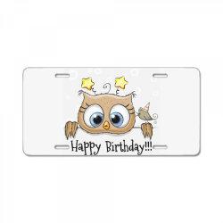 Happy Birthday License Plate | Artistshot