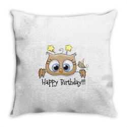 Happy Birthday Throw Pillow | Artistshot