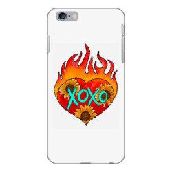 Xoxo Fire Heart iPhone 6 Plus/6s Plus Case | Artistshot