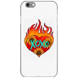 Xoxo Fire Heart iPhone 6/6s Case | Artistshot