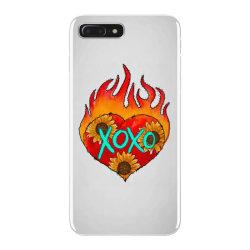 Xoxo Fire Heart iPhone 7 Plus Case | Artistshot
