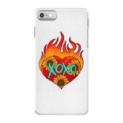 Xoxo Fire Heart iPhone 7 Case | Artistshot