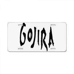 GOJIRA License Plate | Artistshot