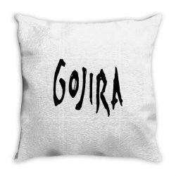 GOJIRA Throw Pillow | Artistshot