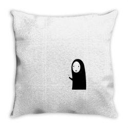 No Face Spirited Throw Pillow | Artistshot