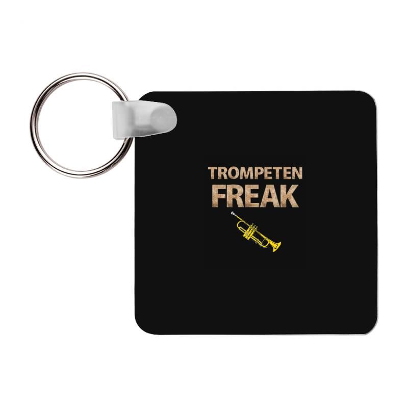 Trumpet Freak Of Brass Music Frp Square Keychain | Artistshot