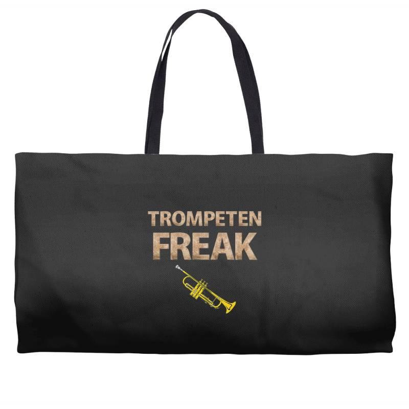Trumpet Freak Of Brass Music Weekender Totes | Artistshot