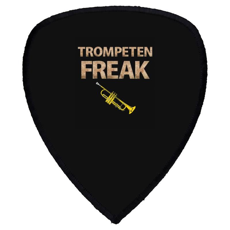 Trumpet Freak Of Brass Music Shield S Patch | Artistshot